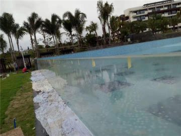 پانل های استخر شنا آکریلیک در فضای باز سفارشی